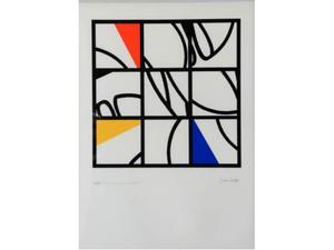 VARISCO GRAZIA serigrafia su carta 70x50 cm es.