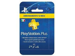 Abbonamento play station plus 12 mesi