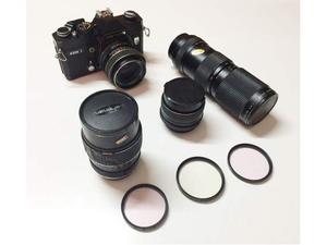 Fotocamera reflex analogica Carena-Pentax