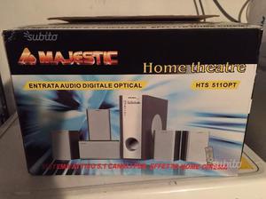 Home Theatre Majestic 5.1 - NUOVO