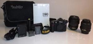 Nikon D90 + corredo