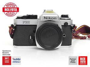 Nikon FE2 (tendine a nido d'ape in titanio)