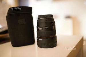 Sigma 85mm 1.4 attacco Canon