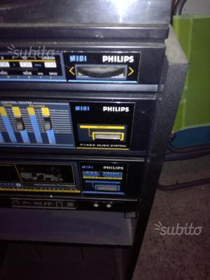 Stereo della Philips mod f music system