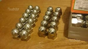 Stock 30 pezzi dadi ciechi acciaio inox M 22