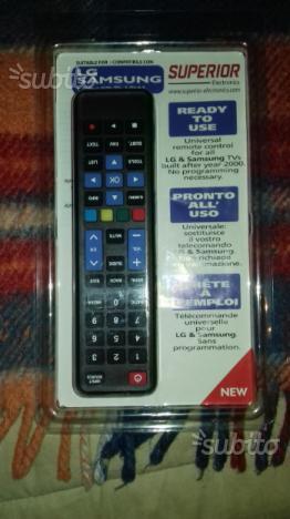 Telecomando universale per tv.lcd samsung e lg
