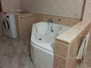 Vasca Da Bagno Usata : Vasca da bagno angolare posot class