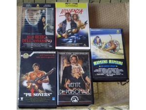 3 Film introvabili in VHS ORIGINALE in stock
