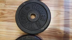 Bilancere + pesi barbell weider