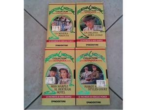 Collana film Agatha Christie Collection in VHS originale