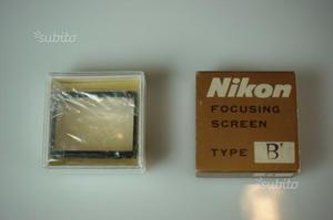 F2 Nikon Schermo messa a fuoco / Focusing screen