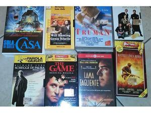 Film cult CINEMA anni 90 in VHS ORIGINALE in stock
