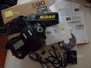 Nikon D90 + Battery MB-D80 (NITAL scatti)