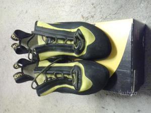 Scarpette arrampicata miura lacci risuolate | Posot Class