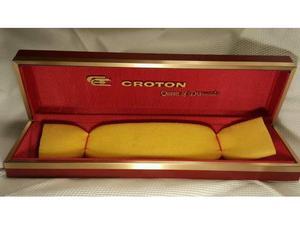 Scatolo, box, per Orologio Croton (Rarità Vintage)