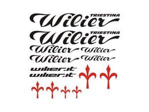 Adesivi Wilier per bici