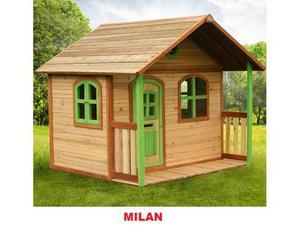 Casetta in legno milan altezza 175 cm