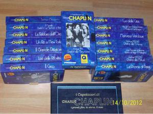 Charlie Chaplin Serie di film VHS