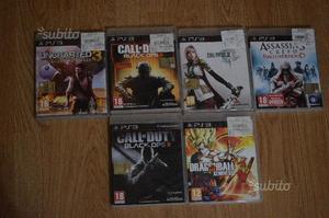 GIOCHI PS3 ORIGINALI vendibili anche separatamente