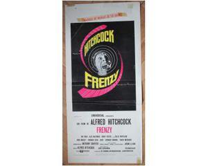 Locandina del film Frenzy di Hitchcock