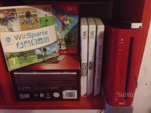 Nintendo Wii rossa