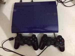 PS 3 slim blu 500gb con 13 giochi
