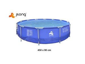 Jilong piscina gonfiabile rotonda 450 x 122 cm posot class for Piscina h 90