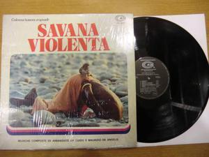 Savana Violenta LP colonna sonora originale