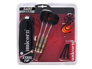 Set 3 freccette con punta in metallo, custodia e accessori