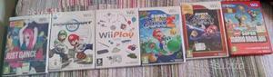 WII con 12 giochi, joistick e telecomandi