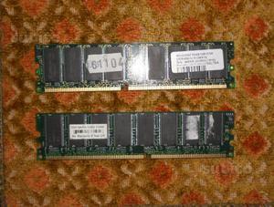 2 Memorie Ram x pc desktop da 512 MB DDR 400 Mhz