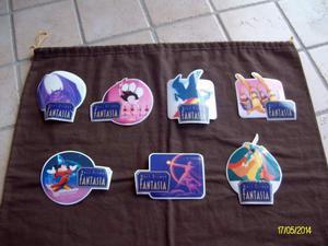 7 adesivi fantasia Walt Disney
