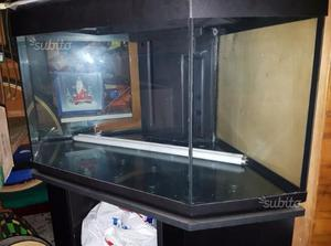 Acquario ottavi mirage 80 eko mobile e accessori posot class for Acquario angolare