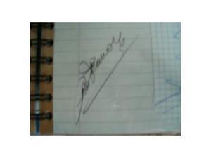 Autografo Ciro Ferrara