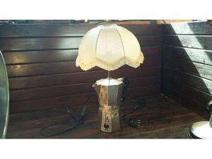 C88 lampada riuso base caffettiera Moka 8 tz Bialetti
