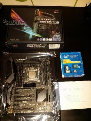 CPU ik e Motherboard x99 Asus ROG Strix