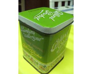 Caffarel prochet scatola di latta da collezione