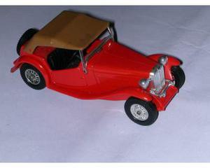 MG TC modellino matchbox 1:43