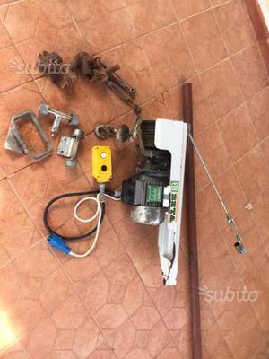 Montacarichi paranco elettrico