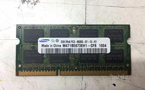 Ram 2GB SODIMM DDR3 SAMSUNG 2RX8 PCS--F