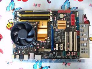 Scheda Madre Asus P5QL-E piu cpu intel core 2 quad