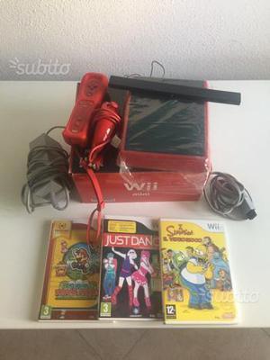 Wii mini con giochi