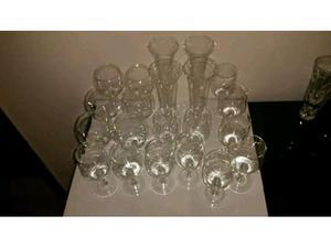 2o bicchieri vari vetro cristallo Cart. 70