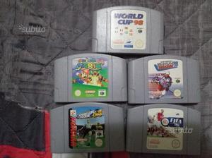 5 giochi console nintendo 64