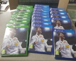 Fifa 18 - Ps4 - Xbox one SIGILLATI