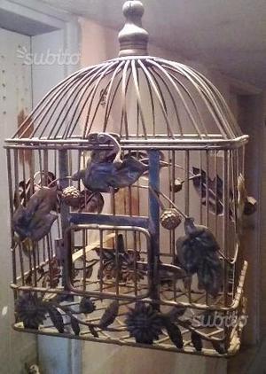 Gabbia uccelli nuova canarini pappagalli
