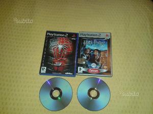 Giochi Playstation2 Harry Potter e Spider man