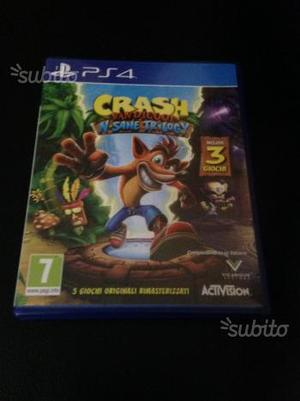 Gioco ps4 crash bandicoot trilogy