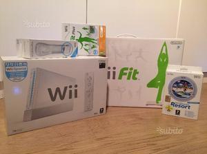 Nintendo Wii Sports con Balance Board, accessori e