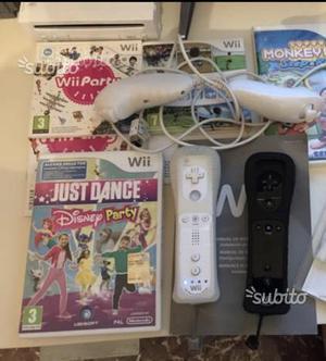 Nintendo Wii completa + 4 giochi originali